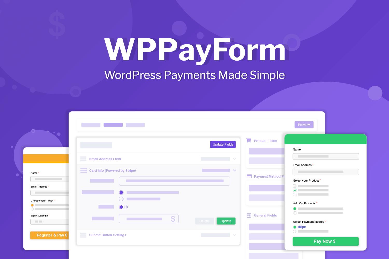 WPPayForm Pro v1.9.91 - WordPress Payments Made Simple