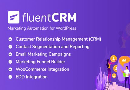 FluentCRM v2.0.2 – Marketing Automation For WordPress
