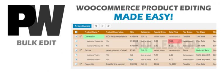 WooCommerce Bulk Edit Pro v2.286