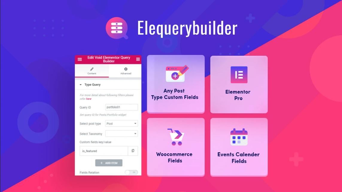 Void Elementor Query Builder v1.2.2