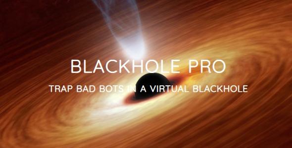 Blackhole Pro v2.9 – Trap Bad Bots In a Virtual Blackhole