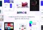 Amos v1.6.6 – Creative WordPress Theme for Agencies