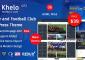 Khelo v2.7.4 – Soccer WordPress Theme