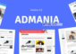 Admania v2.5 – AD Optimized WordPress Theme