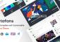 MetaFans v2.3.2 – Community & Social Network BuddyPress Theme